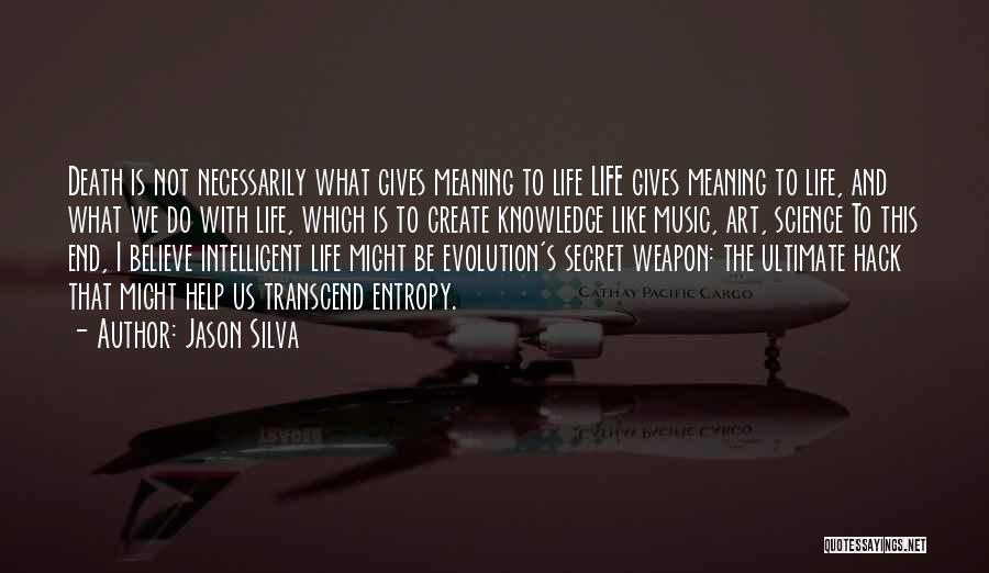 Life Death And Meaning Quotes By Jason Silva