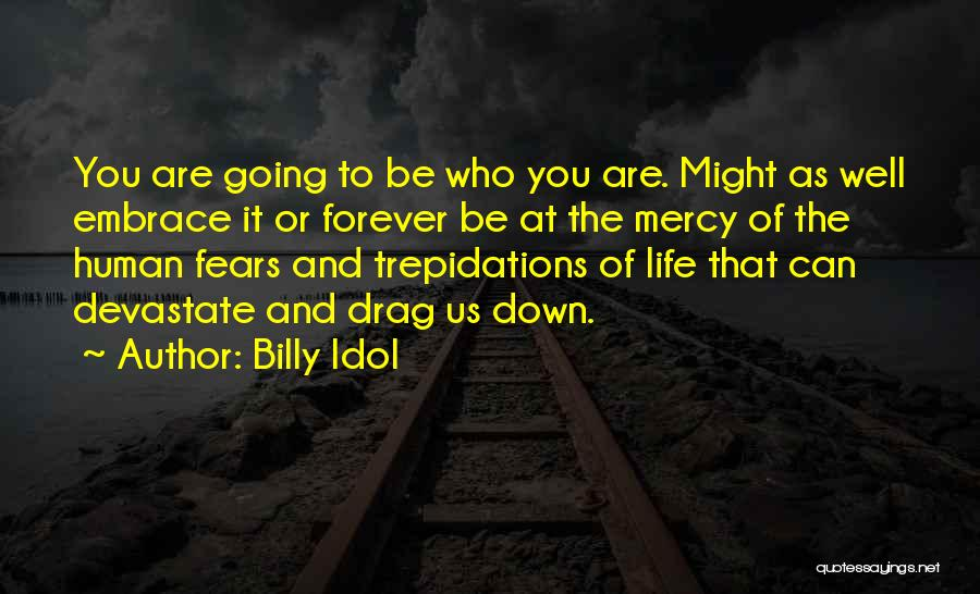 Life Fears Quotes By Billy Idol