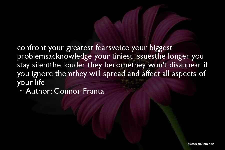 Life Fears Quotes By Connor Franta