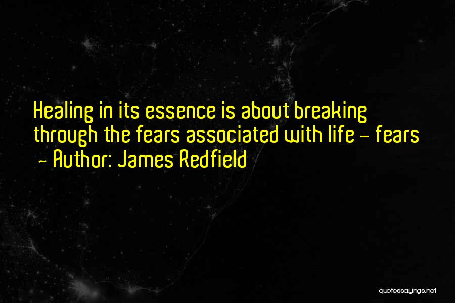 Life Fears Quotes By James Redfield