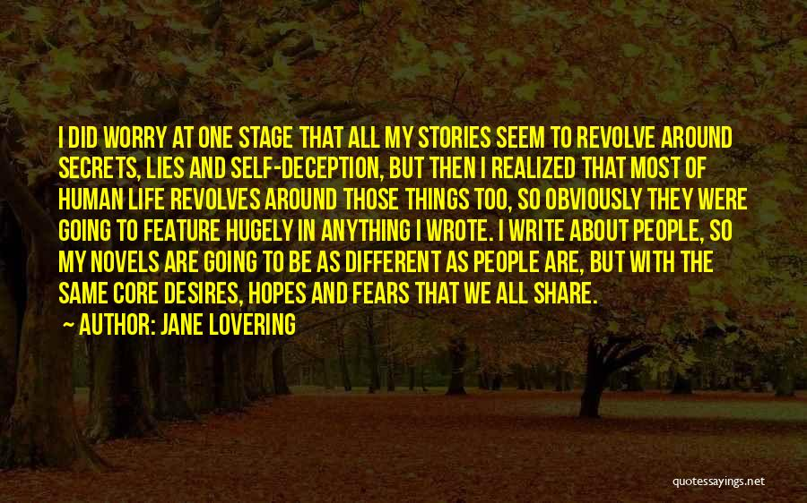 Life Fears Quotes By Jane Lovering
