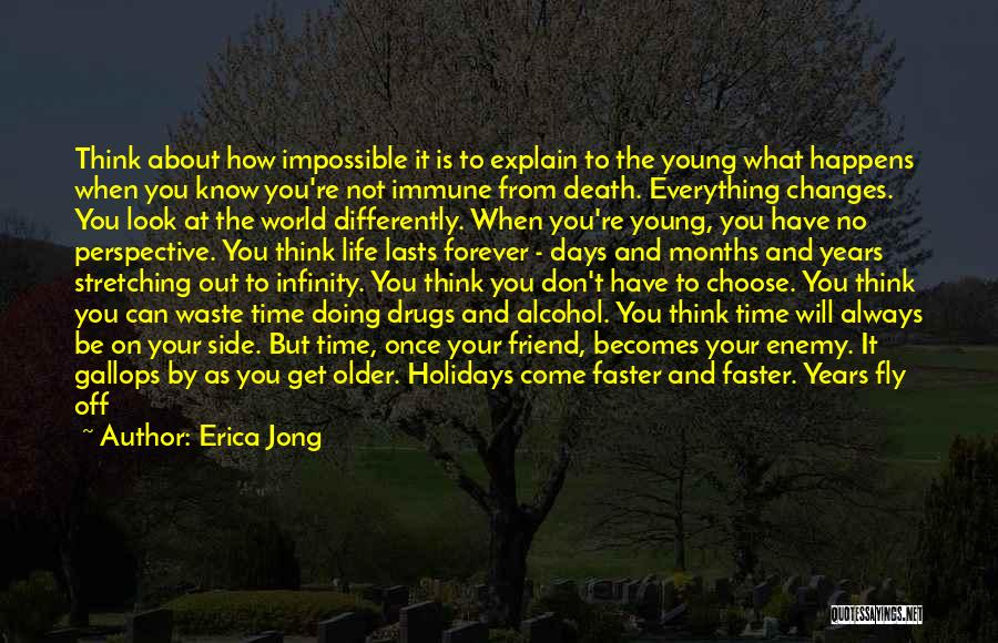 Life Fly By Quotes By Erica Jong