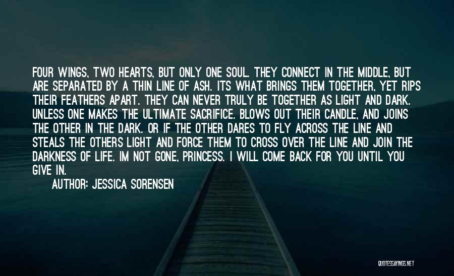 Life Fly By Quotes By Jessica Sorensen
