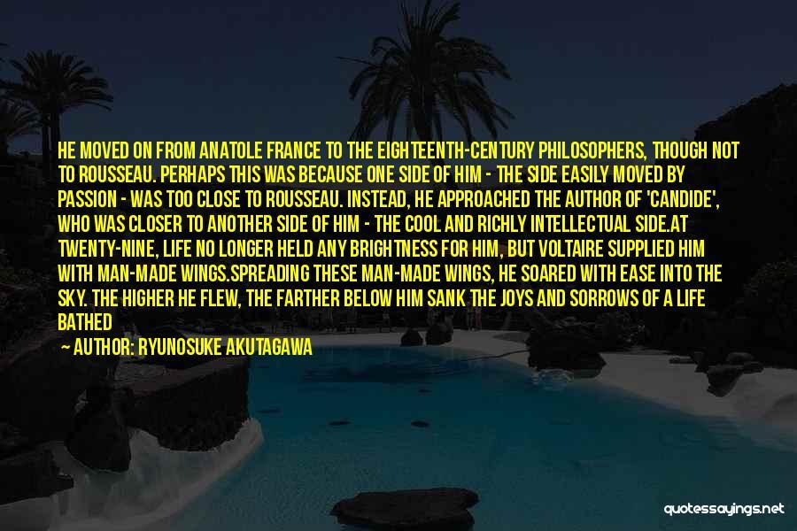 Life Fly By Quotes By Ryunosuke Akutagawa