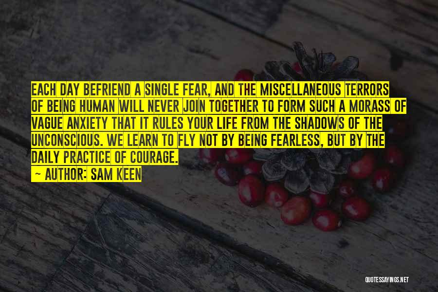 Life Fly By Quotes By Sam Keen
