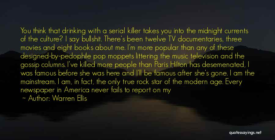 Life From Books And Movies Quotes By Warren Ellis