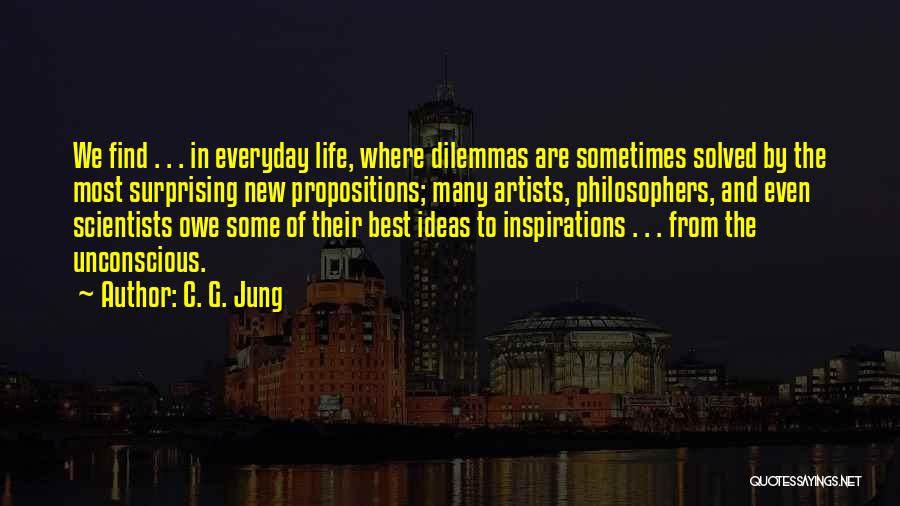 Life From Philosophers Quotes By C. G. Jung