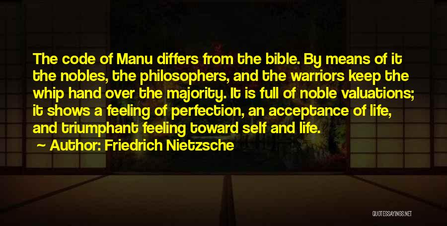 Life From Philosophers Quotes By Friedrich Nietzsche