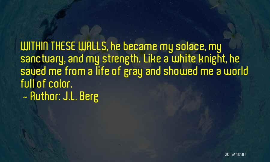 Life Full Of Color Quotes By J.L. Berg