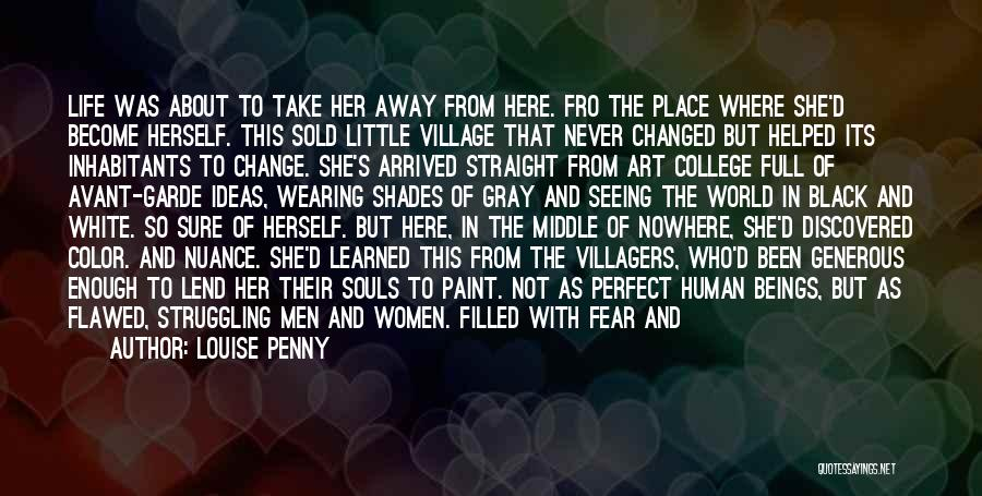 Life Full Of Color Quotes By Louise Penny