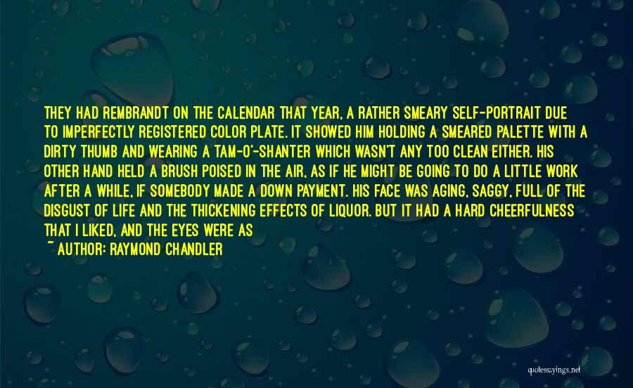 Life Full Of Color Quotes By Raymond Chandler