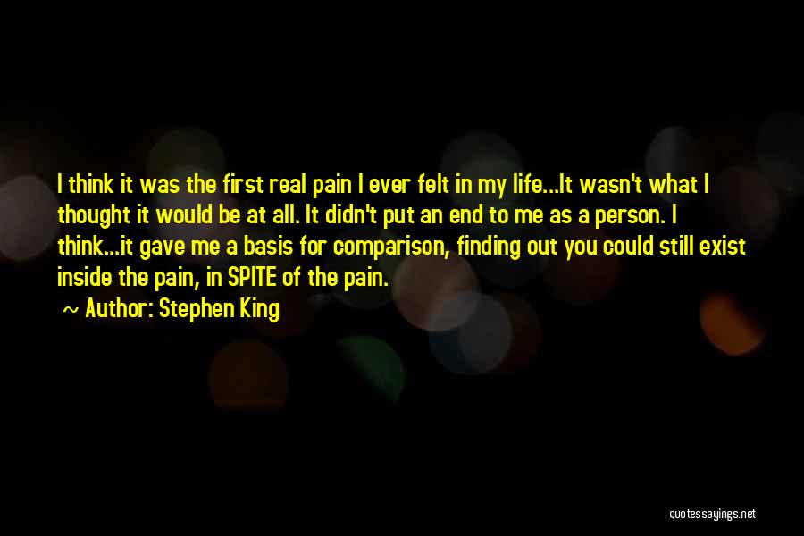 Life Gave Me Quotes By Stephen King