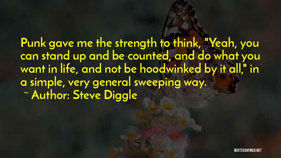 Life Gave Me Quotes By Steve Diggle