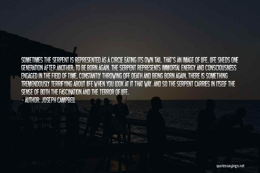 Life Goes In Circles Quotes By Joseph Campbell