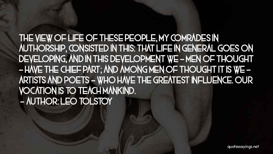 Life Goes Quotes By Leo Tolstoy