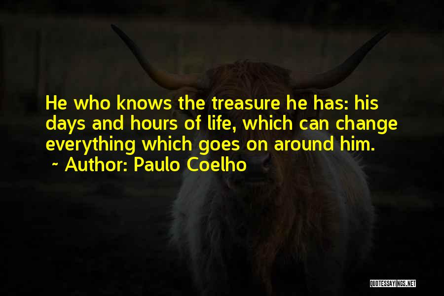 Life Goes Quotes By Paulo Coelho
