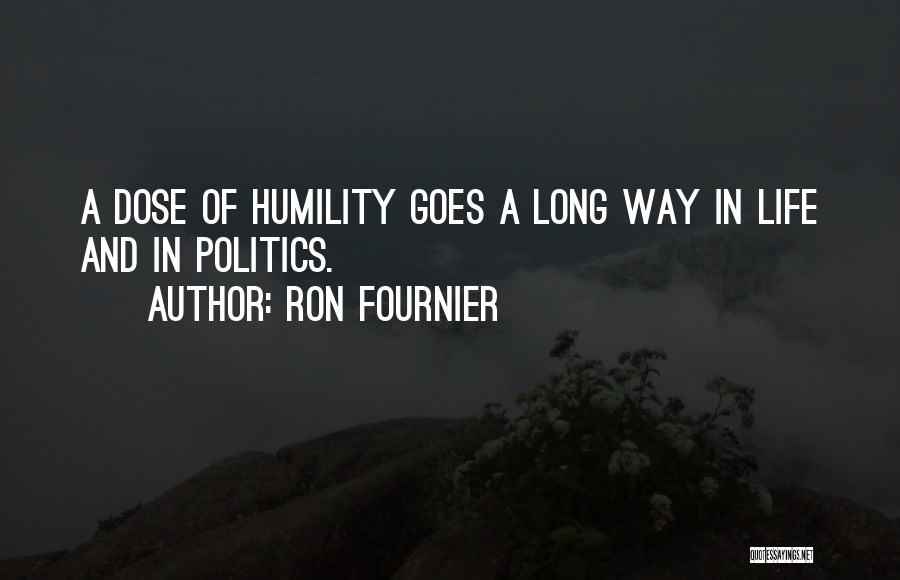 Life Goes Quotes By Ron Fournier