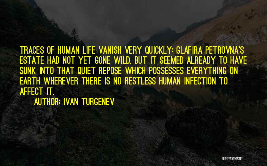 Life Goes So Quickly Quotes By Ivan Turgenev