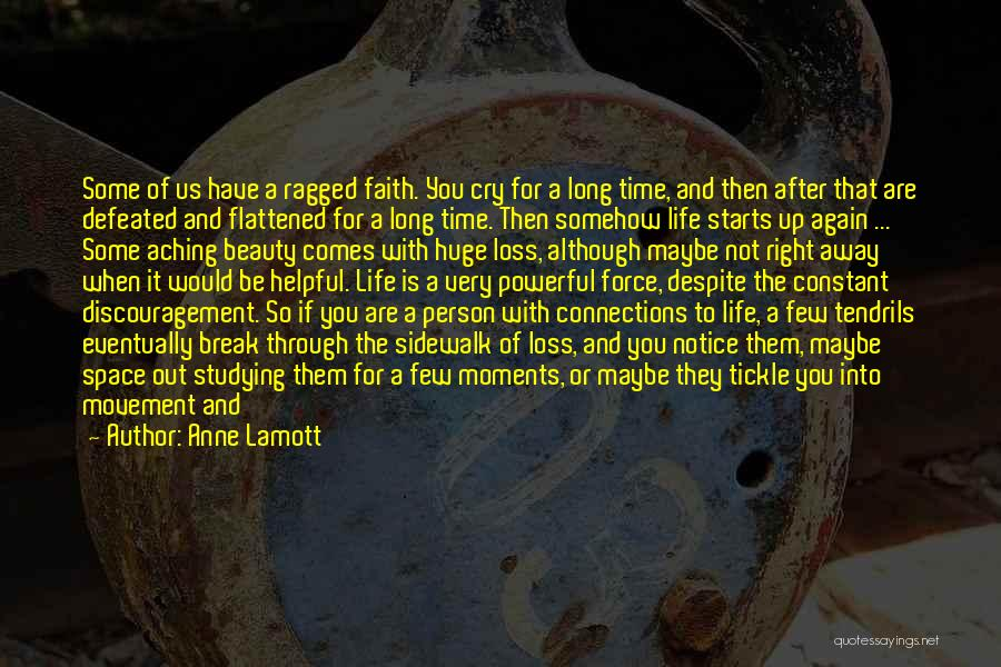 Life Going On After A Break Up Quotes By Anne Lamott