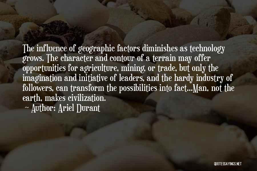 Life Grows Quotes By Ariel Durant