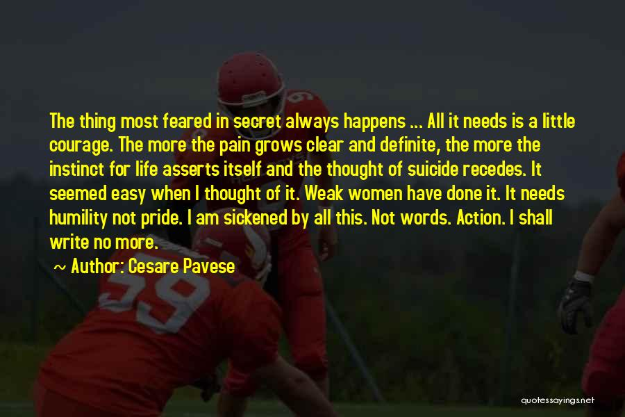 Life Grows Quotes By Cesare Pavese