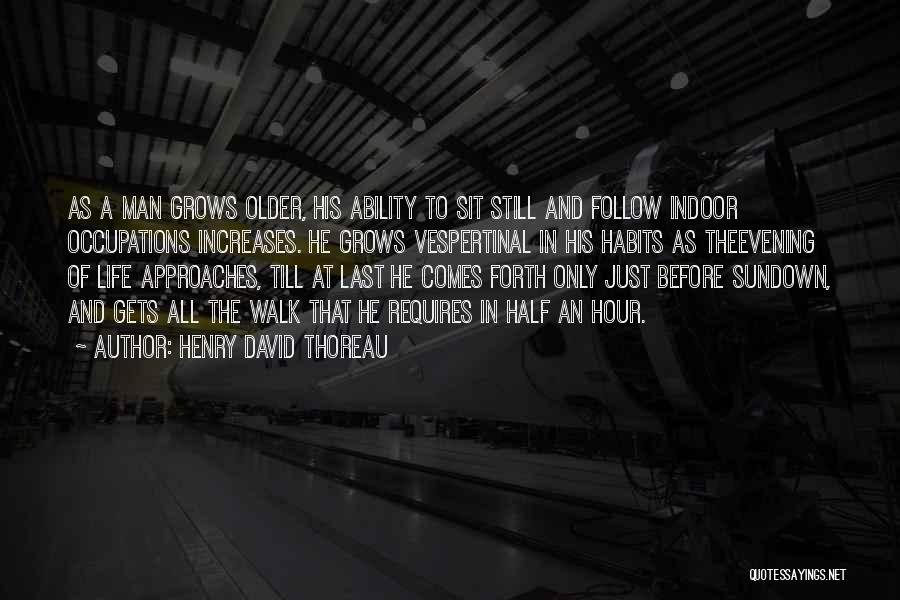 Life Grows Quotes By Henry David Thoreau