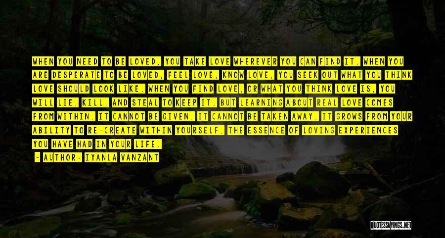 Life Grows Quotes By Iyanla Vanzant
