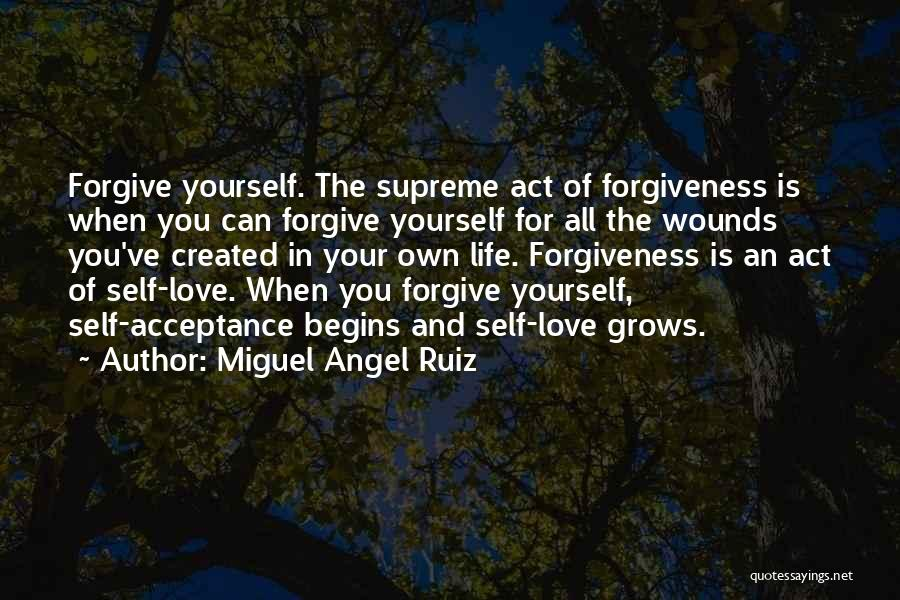 Life Grows Quotes By Miguel Angel Ruiz