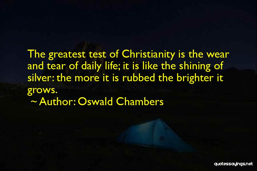 Life Grows Quotes By Oswald Chambers