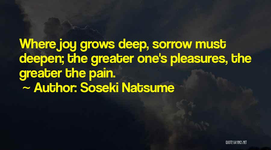 Life Grows Quotes By Soseki Natsume