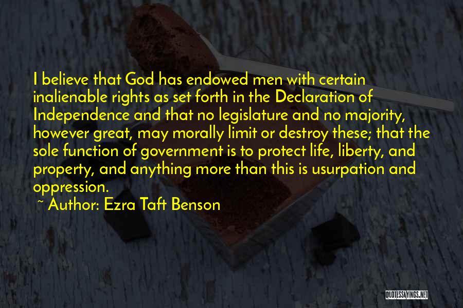 Life Has No Limit Quotes By Ezra Taft Benson