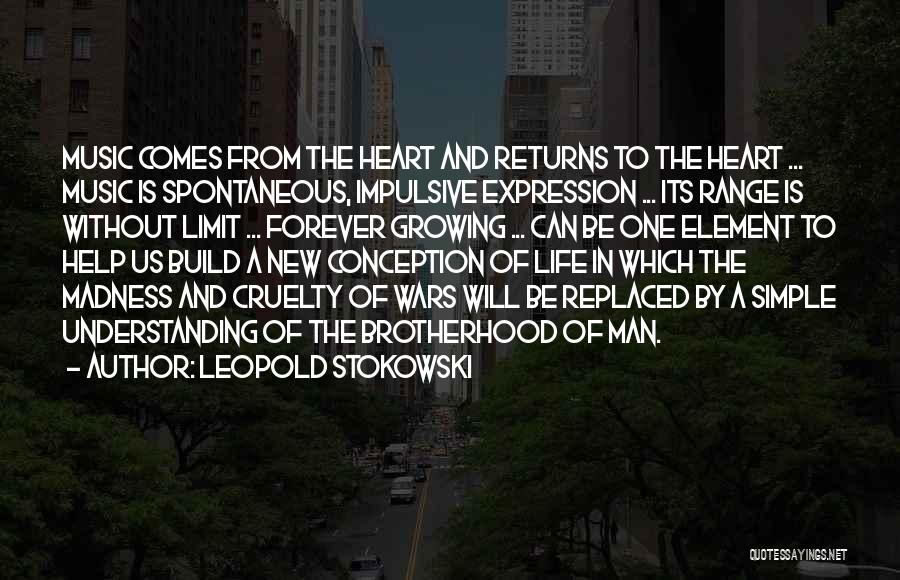 Life Has No Limit Quotes By Leopold Stokowski