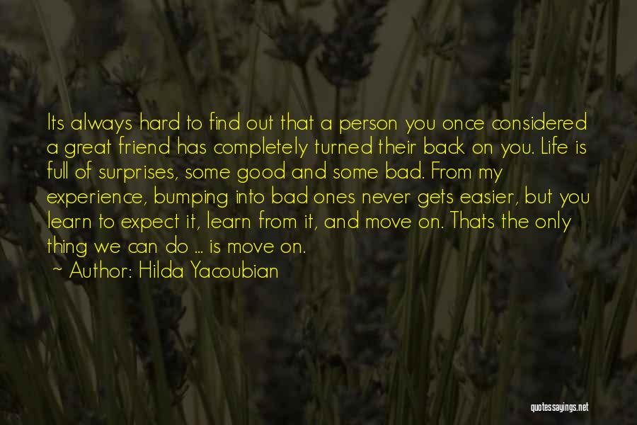 Life If Full Of Surprises Quotes By Hilda Yacoubian