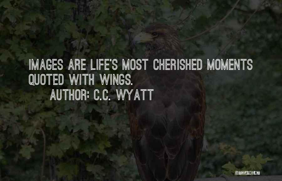 Life Images Quotes By C.C. Wyatt