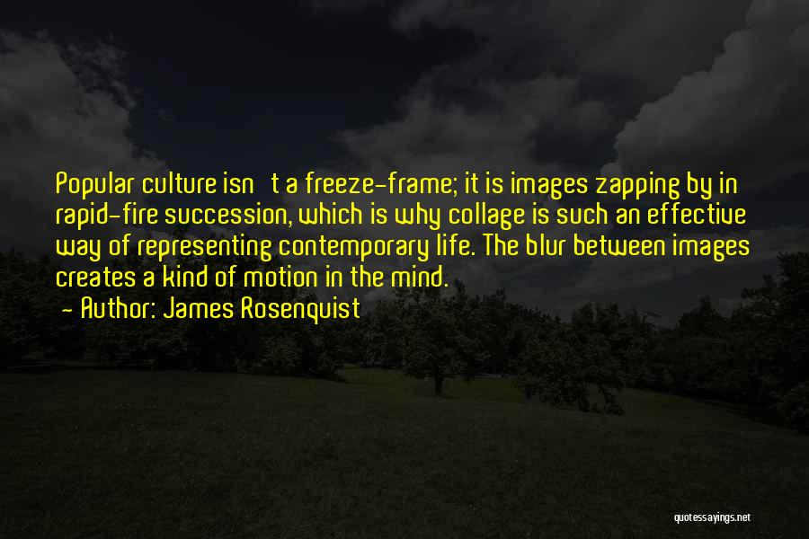 Life Images Quotes By James Rosenquist