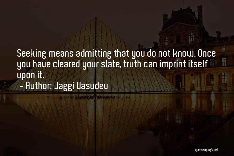 Life Imprint Quotes By Jaggi Vasudev
