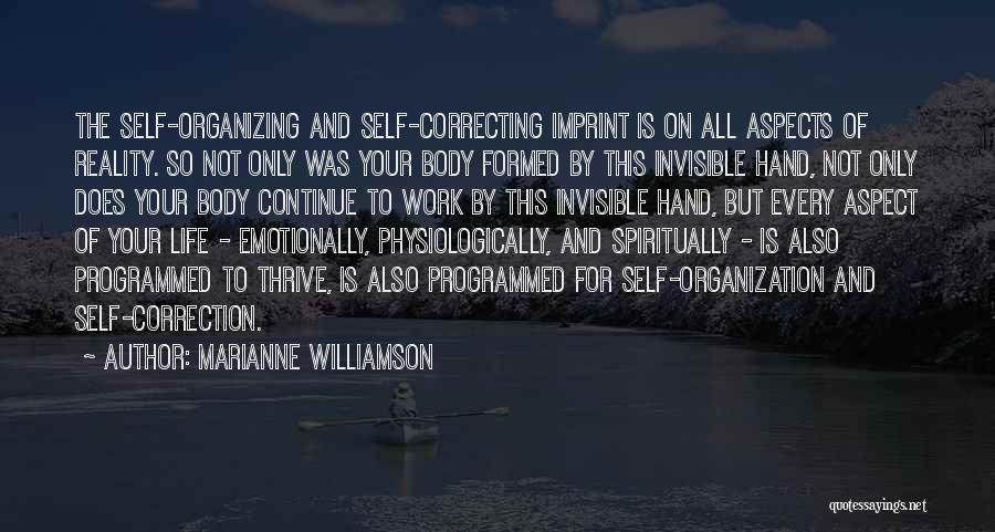 Life Imprint Quotes By Marianne Williamson
