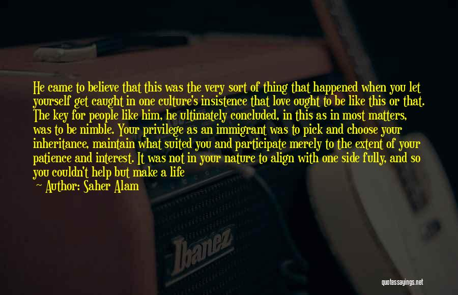 Life Imprint Quotes By Saher Alam