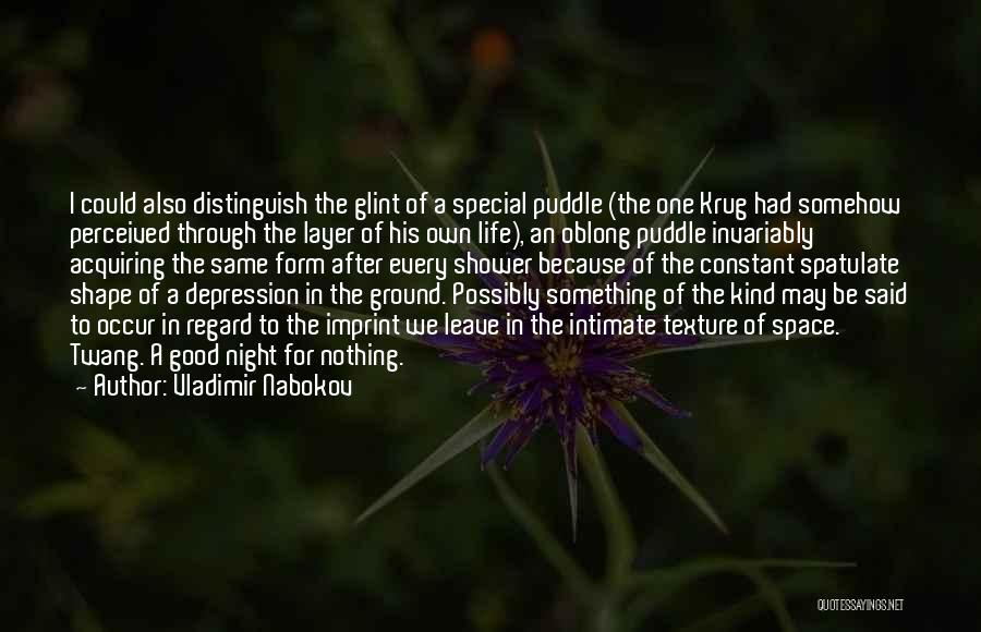 Life Imprint Quotes By Vladimir Nabokov