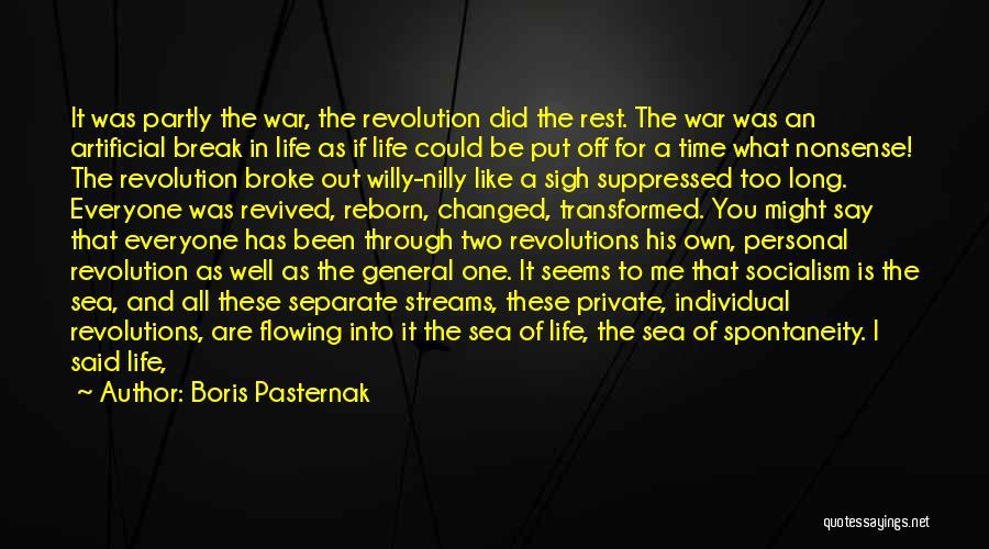 Life In Books Quotes By Boris Pasternak