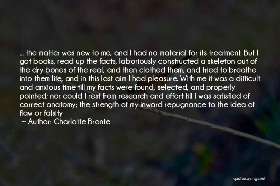 Life In Books Quotes By Charlotte Bronte