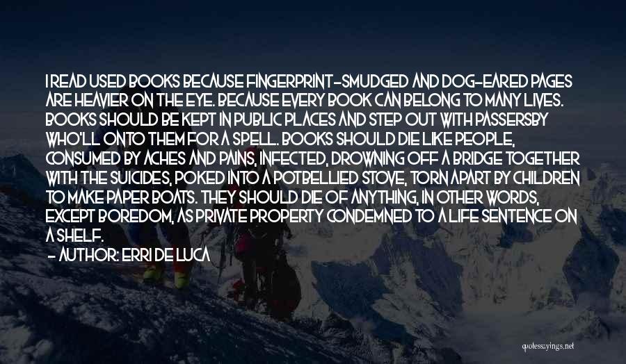 Life In Books Quotes By Erri De Luca