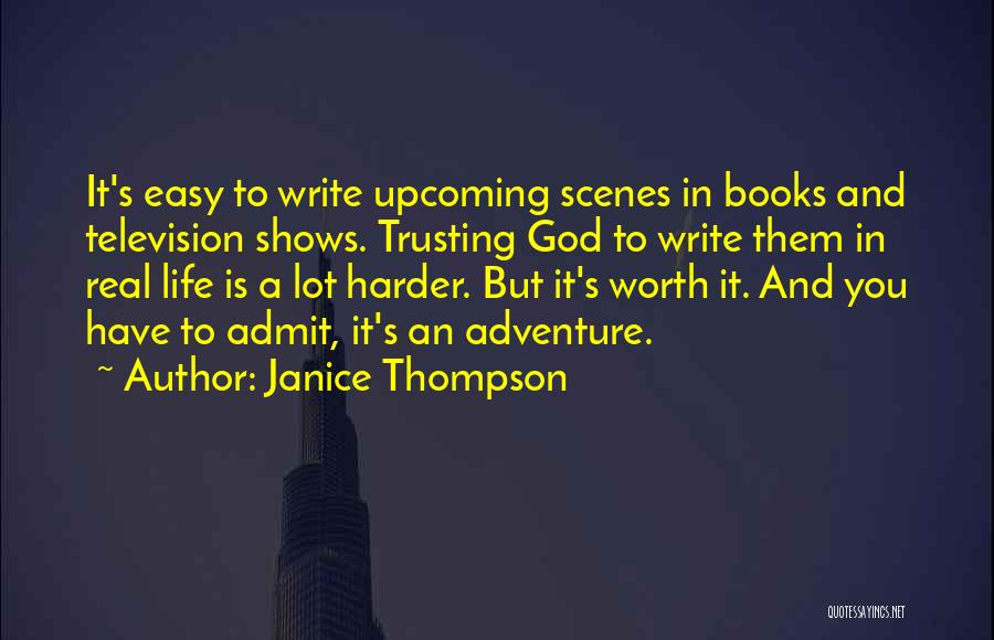 Life In Books Quotes By Janice Thompson