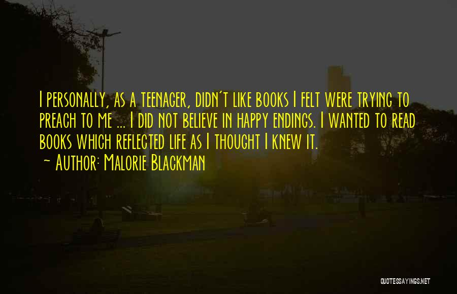 Life In Books Quotes By Malorie Blackman