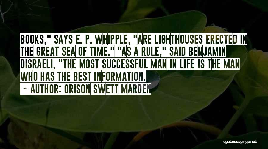 Life In Books Quotes By Orison Swett Marden