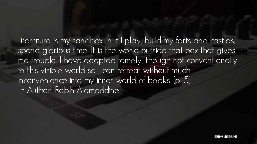 Life In Books Quotes By Rabih Alameddine