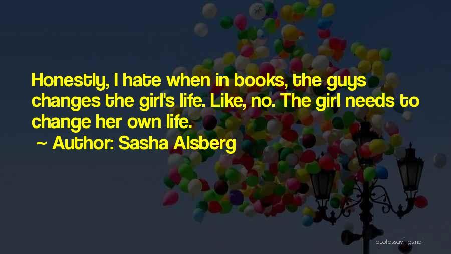 Life In Books Quotes By Sasha Alsberg