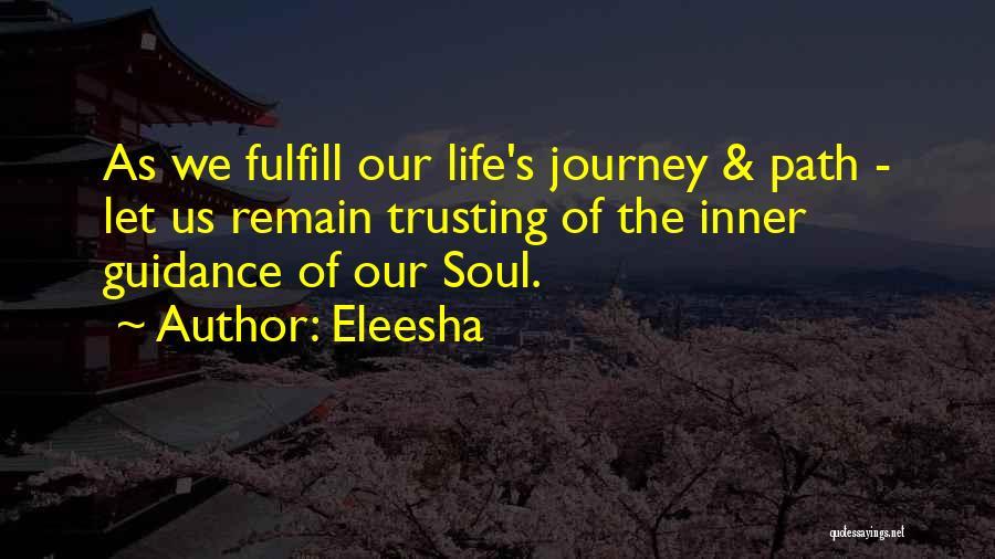 Life Inspirational Quotes By Eleesha