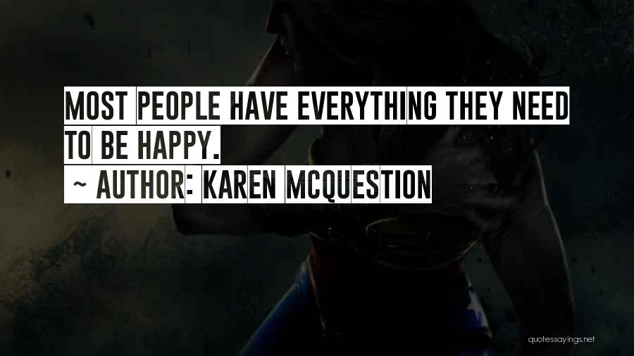 Life Inspirational Quotes By Karen McQuestion