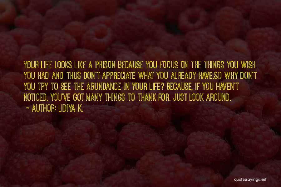 Life Inspirational Quotes By Lidiya K.
